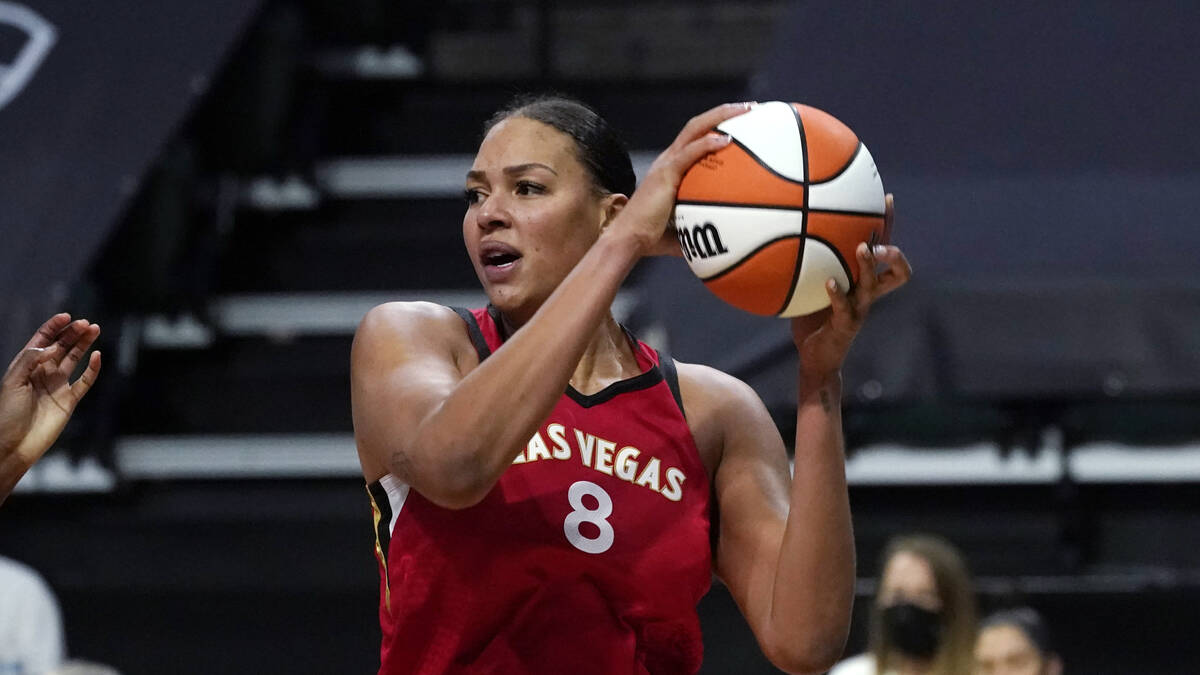 Liz Cambage 'thankful' for health after returning for Aces victory