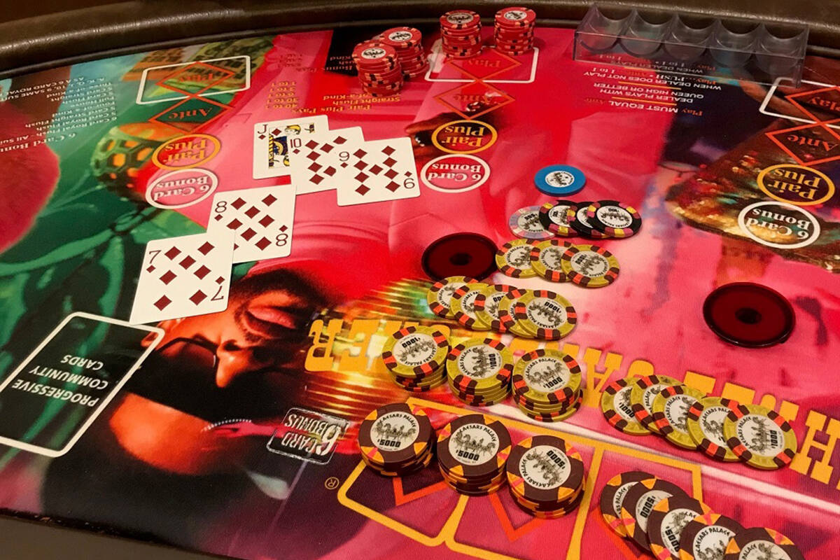 $128K table game jackpot hits on Strip