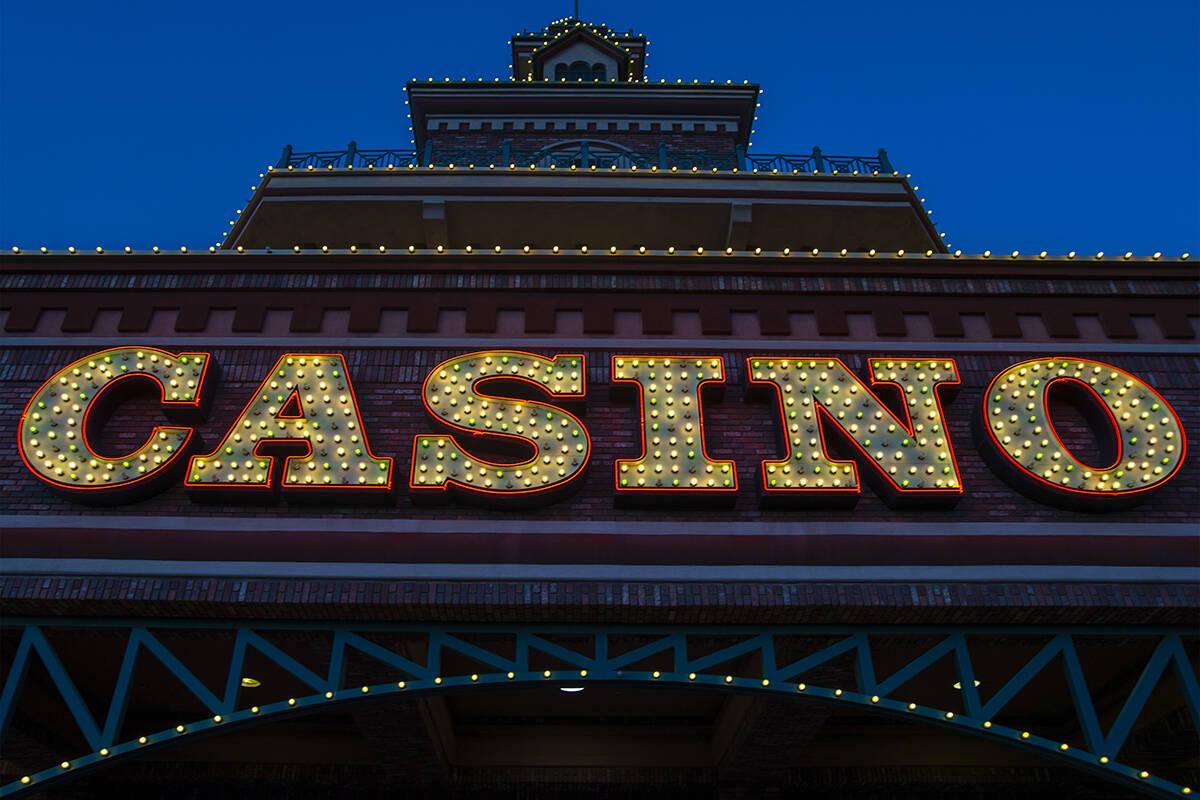 Boulder Station casino on Thursday, Sept. 3, 2020, in Las Vegas. (Benjamin Hager/Las Vegas Revi ...