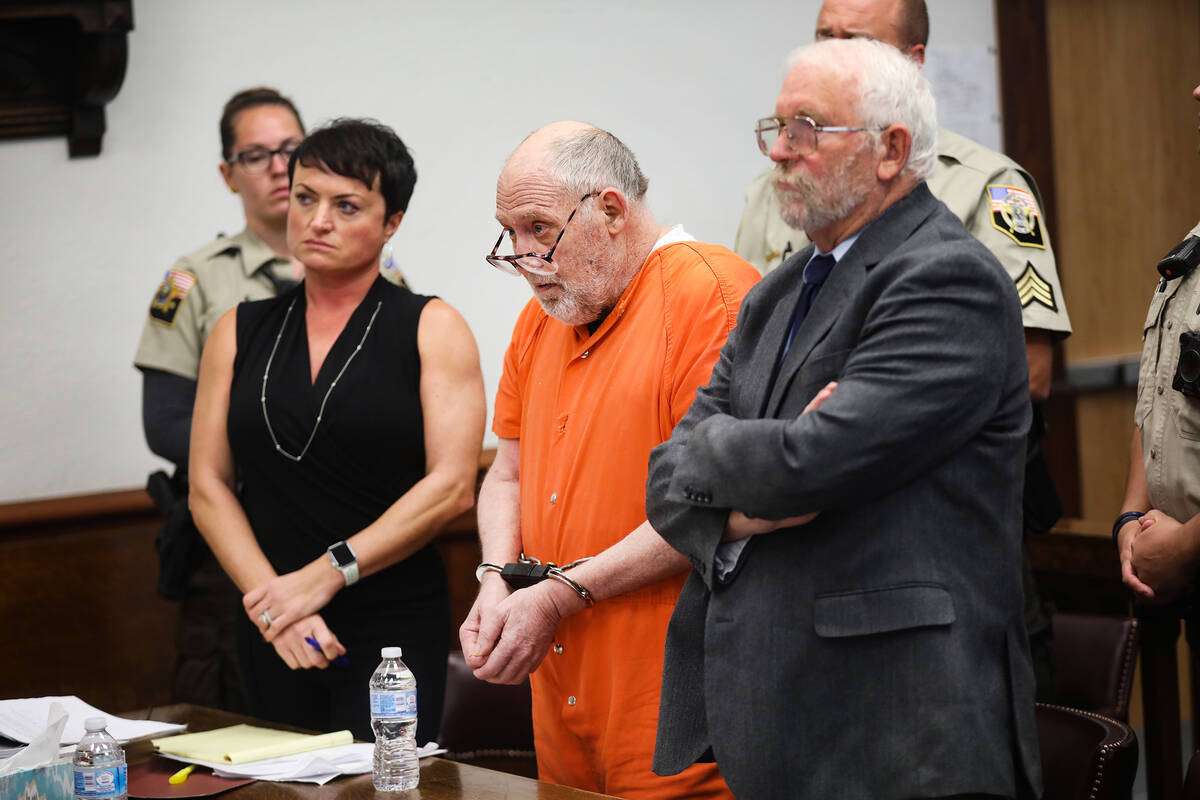 John Dabritz listens the judge as he hands down a sentence of life in prison without possibilit ...