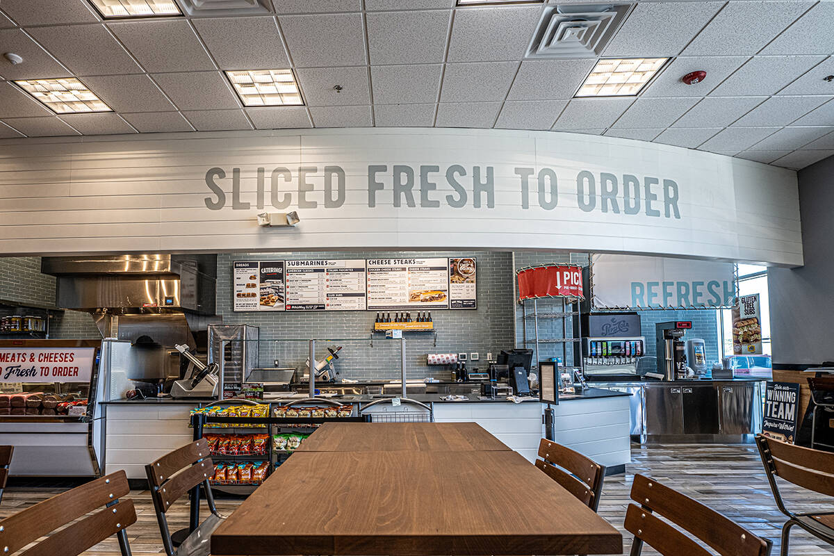 Inspirada Jersey Mike's has opened in a 1,578-square-foot space in the new Shops at Inspirad ...