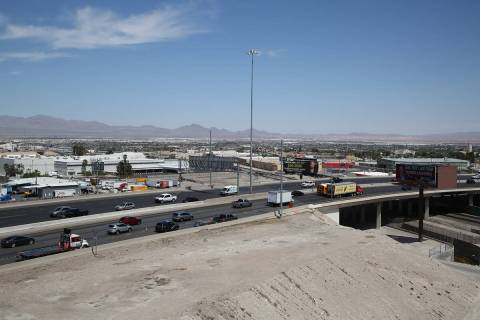 U.S. 95 southbound will be reduced to one lane nightly between Interstate 15 and Eastern Avenue ...