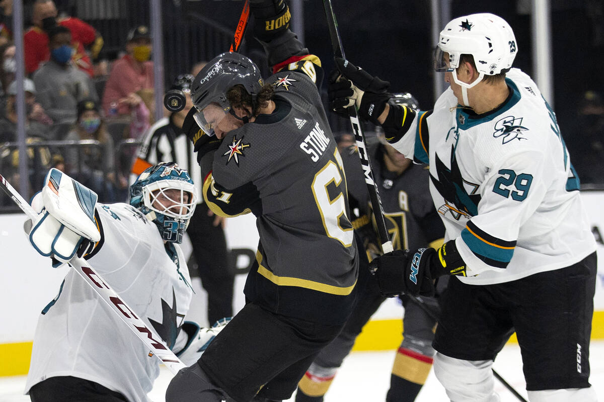 Golden Knights' captain leaves early in preseason loss to Sharks