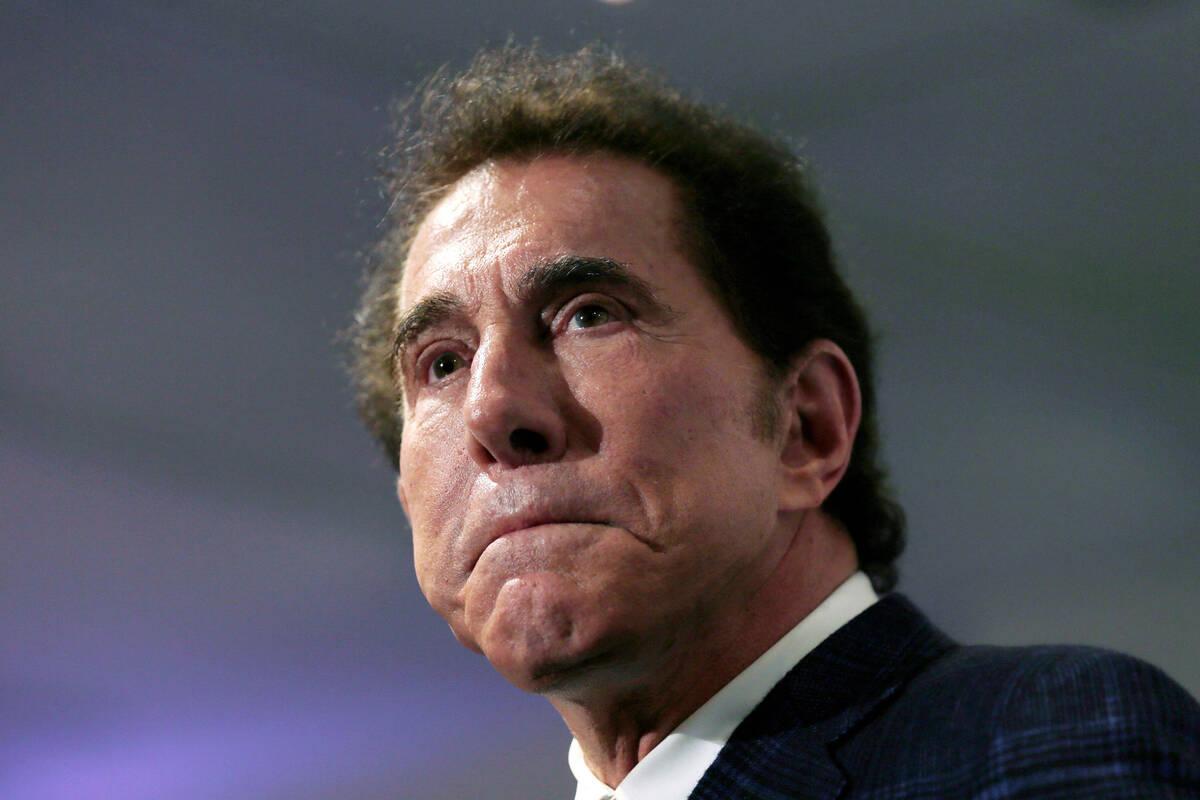 Forme casino mogul Steve Wynn. (AP Photo/Charles Krupa, File)
