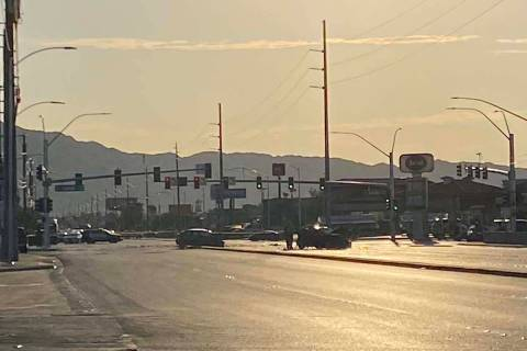 A two-vehicle crash sent multiple people to the hospital and closed the intersection of Charles ...