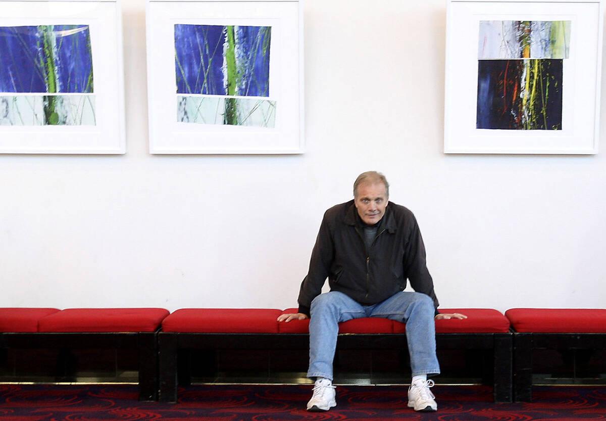 This Nov. 29, 2010, file photo shows UNLV professor Michael Tylo poses in the Atemus Ham Concer ...