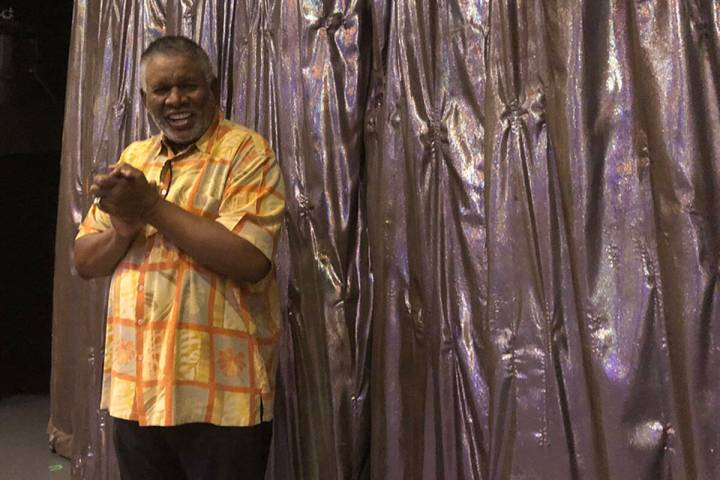 George Wallace is shown onstage at Westgate Cabaret on Friday, May 18, 2018. (John Katsilometes ...