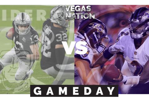 Monday Night Football Raiders-Ravens Preview   Vegas Nation Gameday Week 1