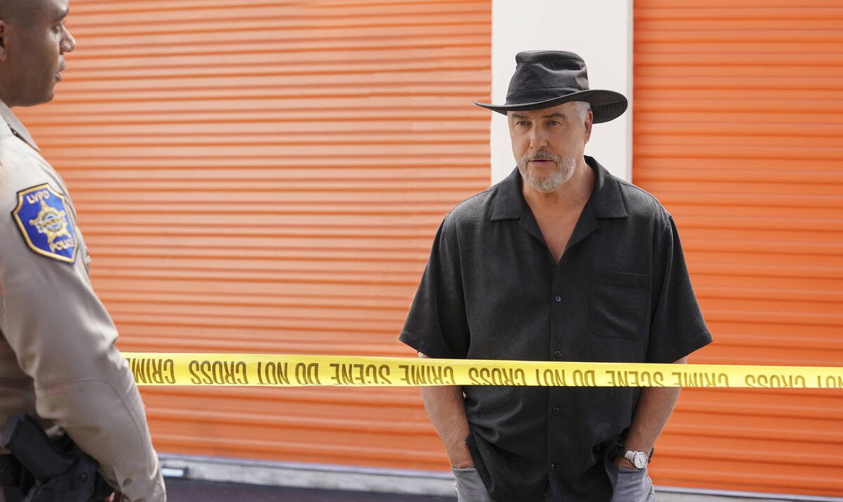 William Petersen as Dr. Gil Grissom. (Sonja Flemming/CBS)