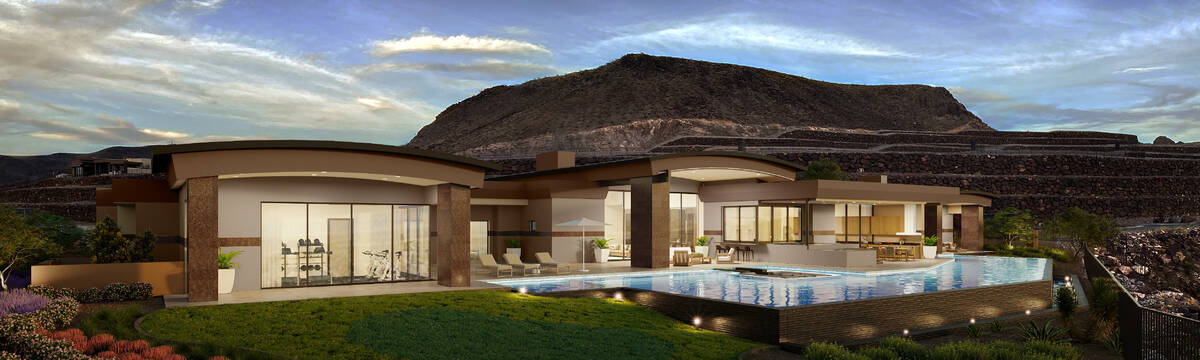 This Ascaya home by Sun West Custom Homes is listed for $13.5 million. When completed, it will ...