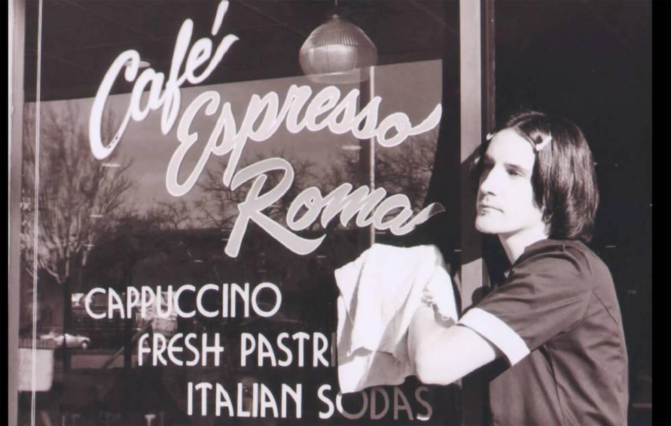 Cafe Espresso Roma menjual kopi dan budaya di sepanjang Maryland Parkway.  (Media Pkw)