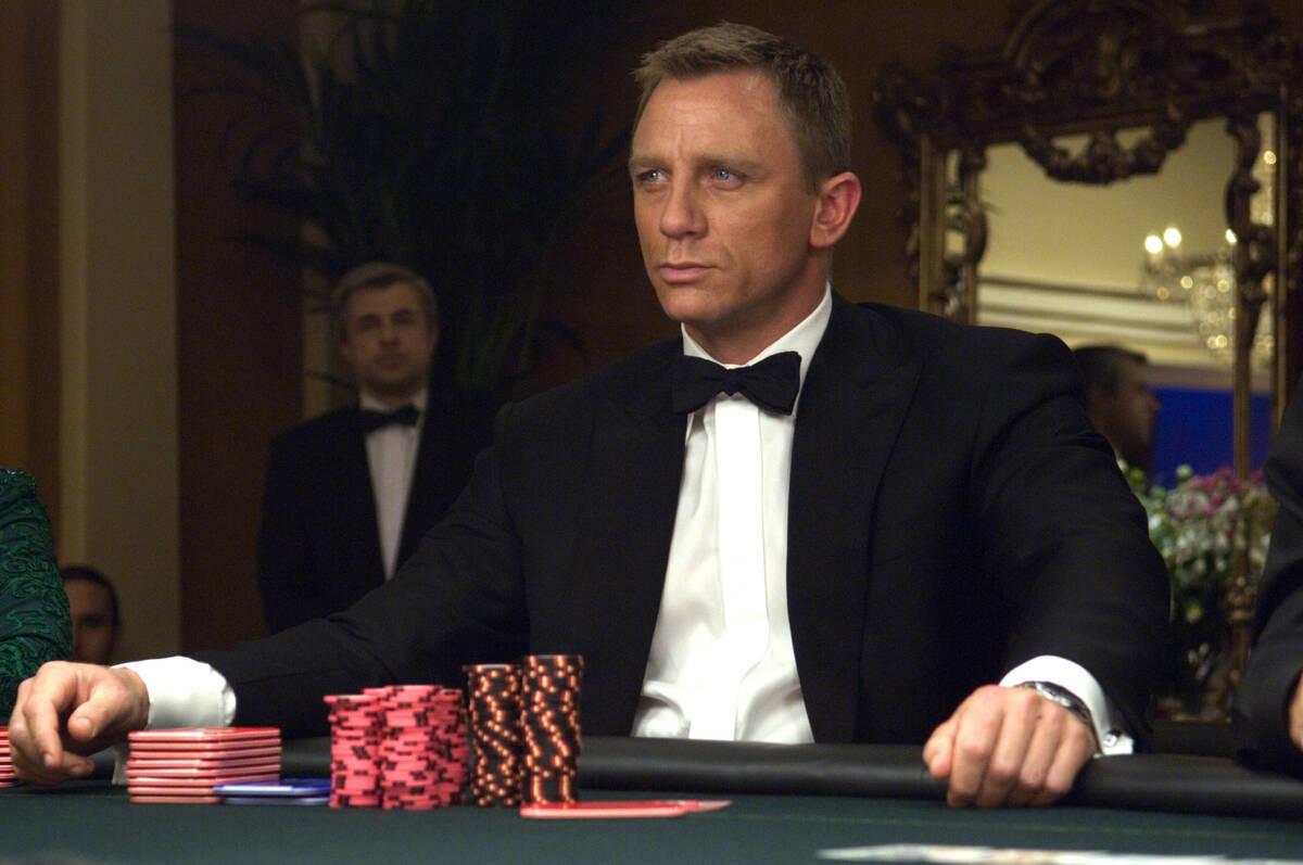 "Daniel Craig is James Bond in the 007 action adventure ""Casino Royale,"" from Metro-Goldwyn Maye ..."