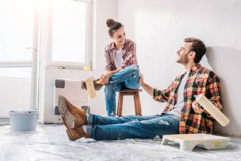 Many first-time homebuyers want to put money into cosmetic enhancements, but they should also b ...