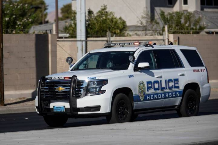 Henderson Police Department (Erik Verduzco / Las Vegas Review-Journal)