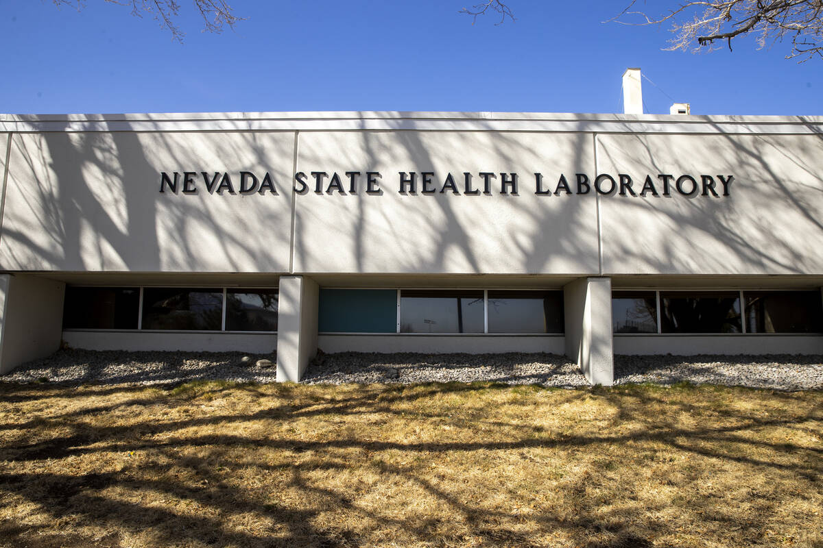 The Nevada State Public Health Lab based out of UNR School of Medicine leading the testing of v ...