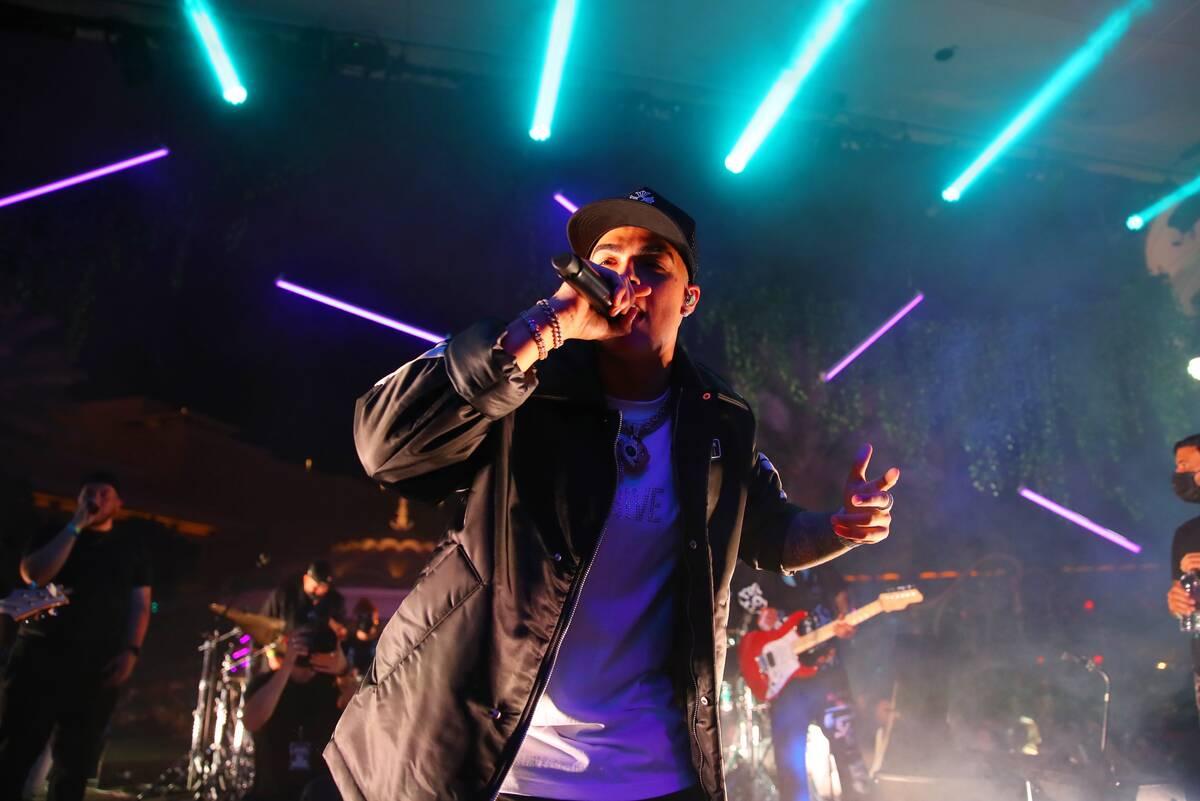 LUNAY, on stage at XS Nightclub inside Wynn Las Vegas on Oct. 7 for Justin Bieber & Friends, Th ...