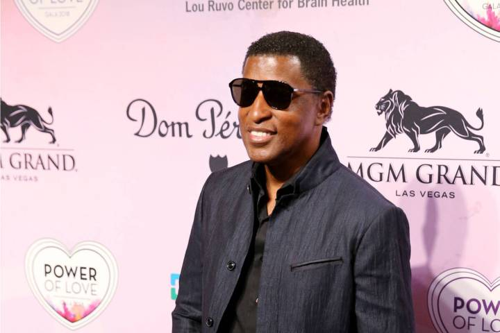"""Songwriter and vocalist Kenny """"Babyface"""" Edmonds on the purple carpet at the 22nd annual Power ..."""
