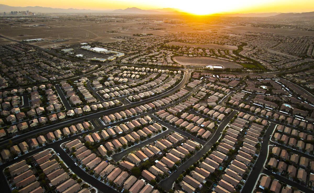 Las Vegas' Southern Highlands community is seen Friday, June 15, 2012. (Las Vegas Review-Jounal ...