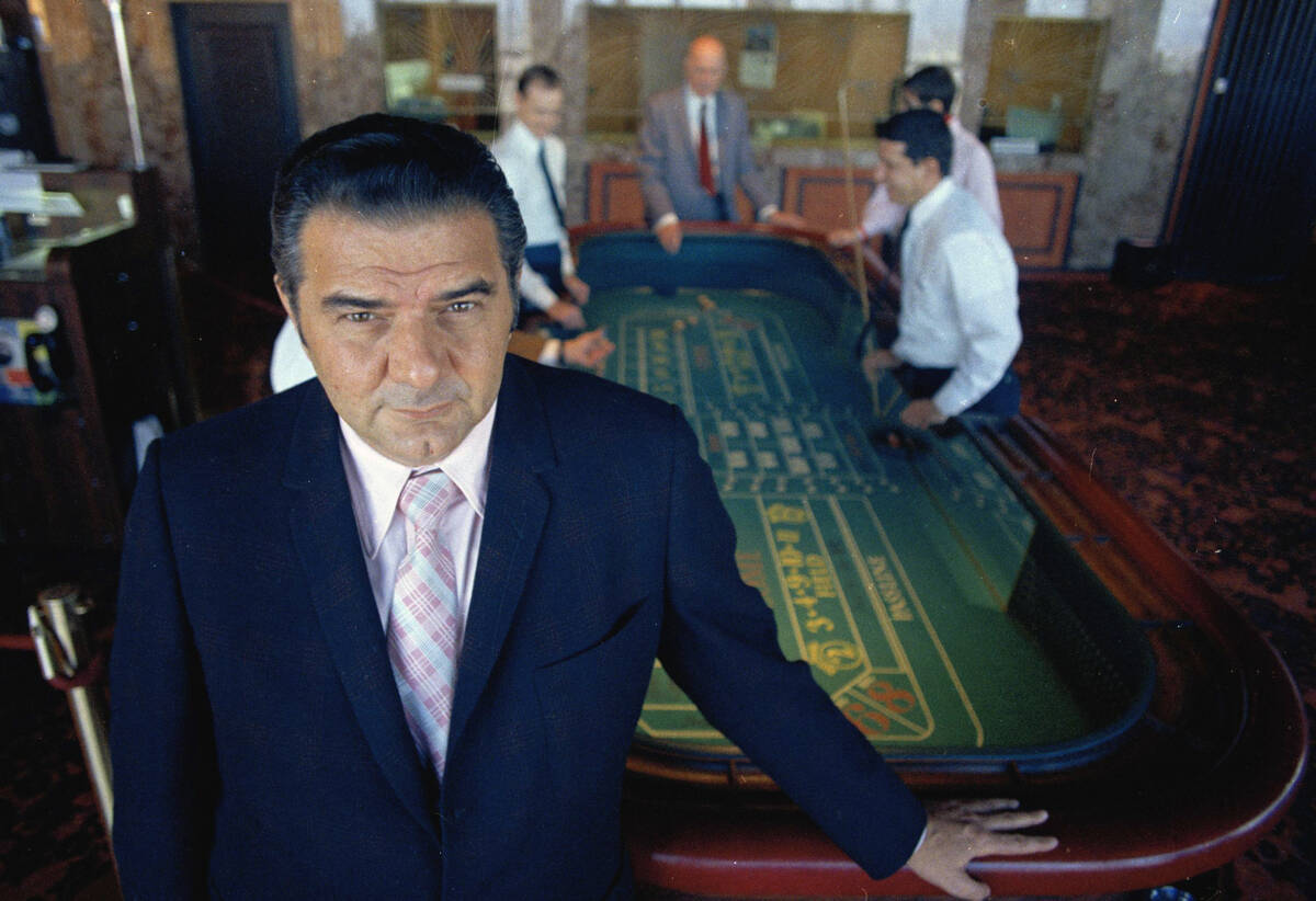 """Jimmy """"The Greek"""" Snyder famed Las Vagas oddsmaker is shown in this 1970 photo. (AP Photo)"""