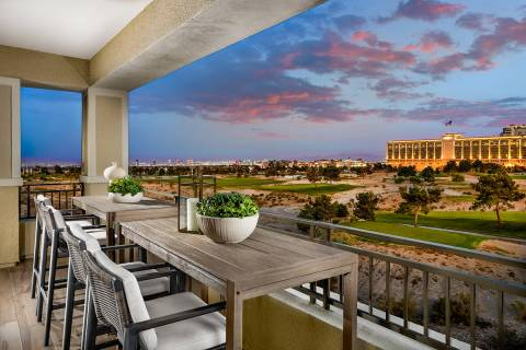 Mira Villa by Toll Brothers in The Canyons village is one of four neighborhoods offering attach ...