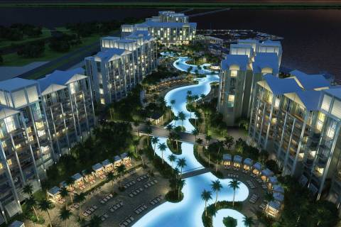 Allegiant Travel Co. plans to finish construction of its once-stalled Florida resort project, S ...