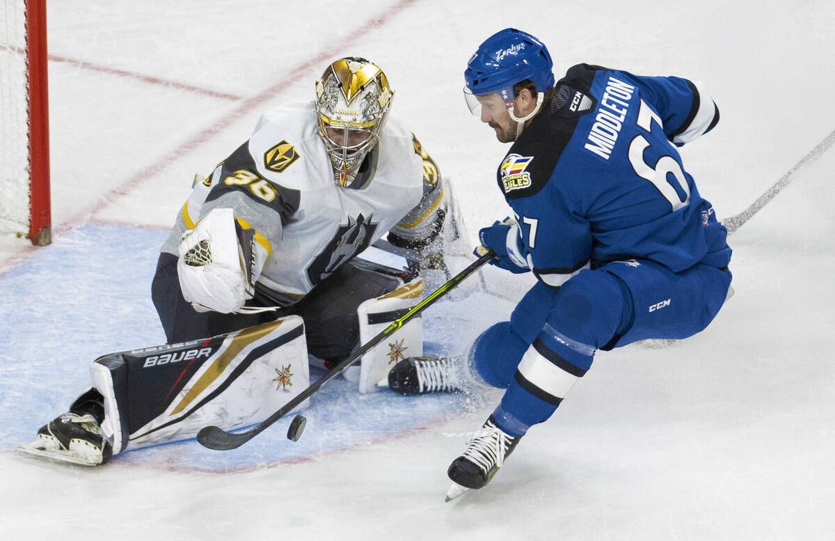 Silver Knights begin 2nd AHL season with sweep