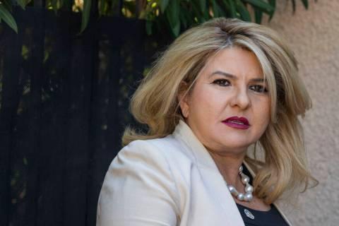 This June 11, 2020, file photo shows Las Vegas Councilwoman Michele Fiore in Las Vegas. (Las Ve ...