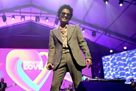 Bruno Mars attends the 25th annual Keep Memory Alive 'Power of Love Gala' benefit for the Cleve ...