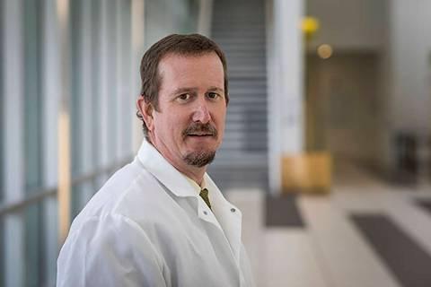 Mark Pandori, director of the Nevada State Public Health Laboratory at the University of Nevada ...