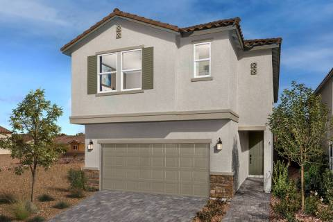 Creekstone by KB Home is a new community of single-family homes in the southwest Las Vegas Vall ...