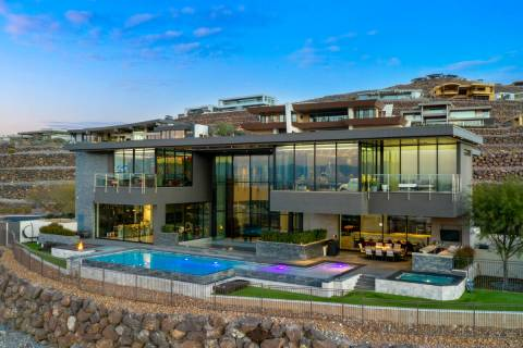 Gene Simmons of Kiss is trying to sell his mansion in Henderson's Ascaya community. (Courtesy)