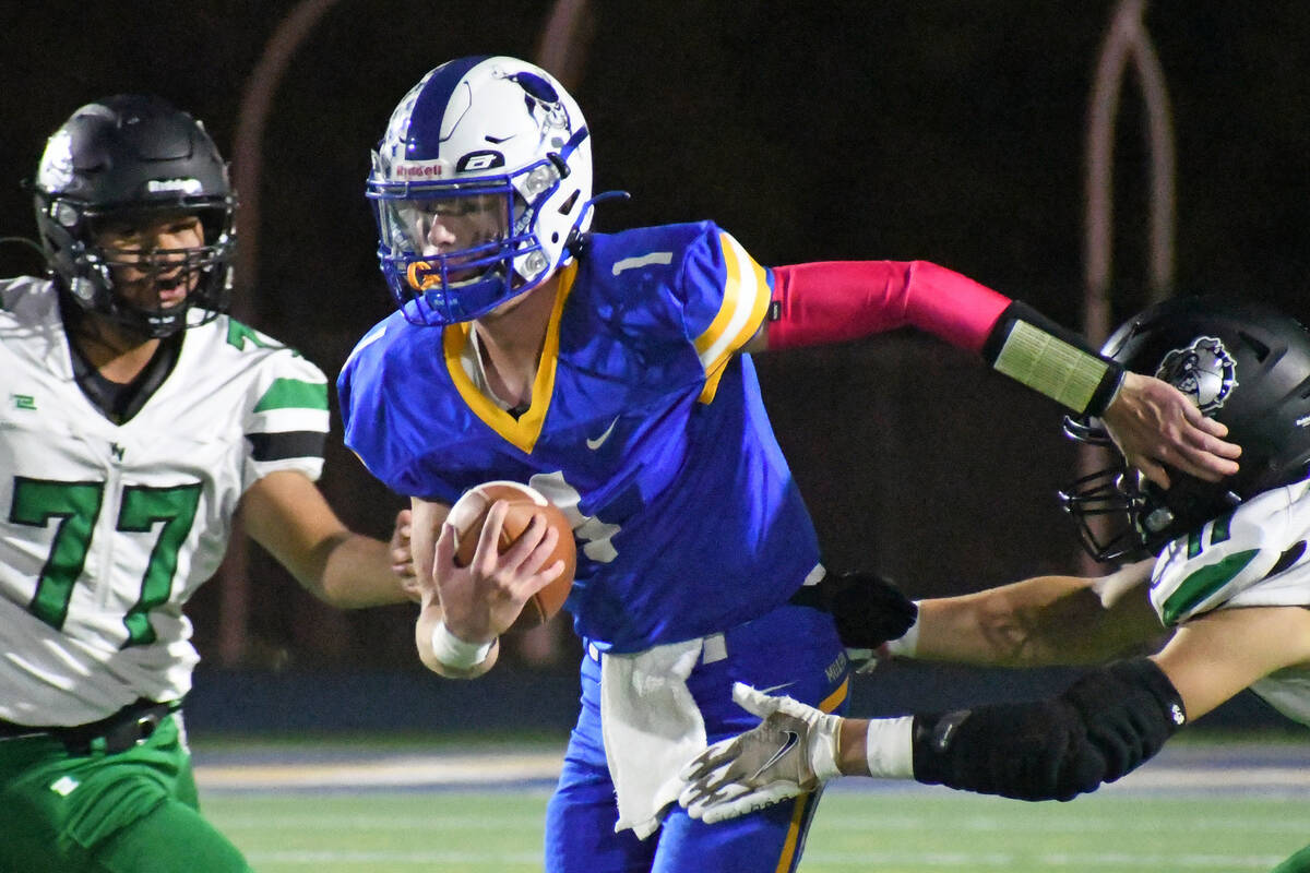 Moapa Valley overcomes slow start to win Hammer Game