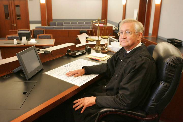 District Judge John McGroarty (Review-Journal file)