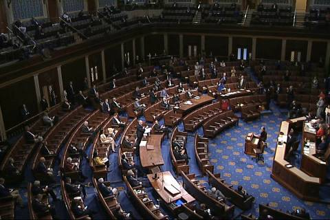 The House voted 424-3 to pass legislation modeled after Nevada laws to provide confidentiality ...